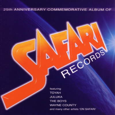 Wayne County & The Electric Chairs - Safari Years Box